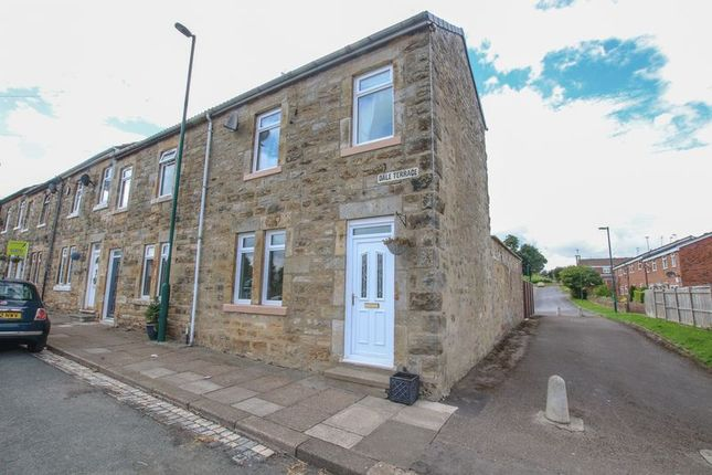 Thumbnail End terrace house for sale in Dale Terrace, Lingdale, Saltburn-By-The-Sea