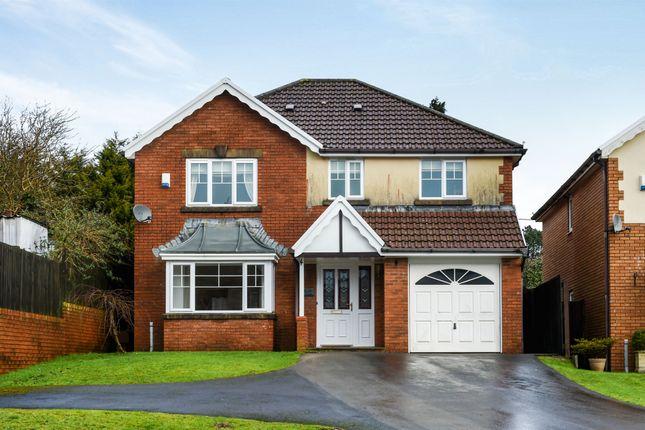 Thumbnail Detached house for sale in Dan Y Fron, Tonyrefail, Porth