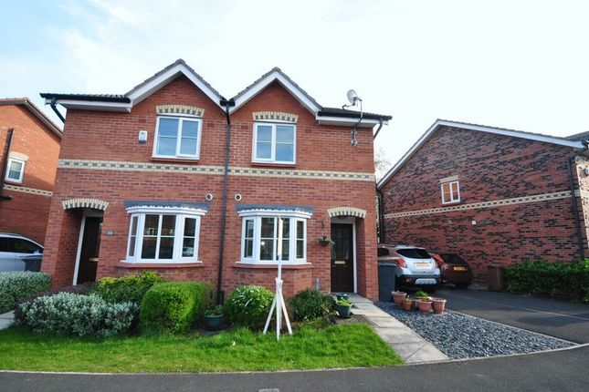 Thumbnail Semi-detached house to rent in Beaford Road, Manchester