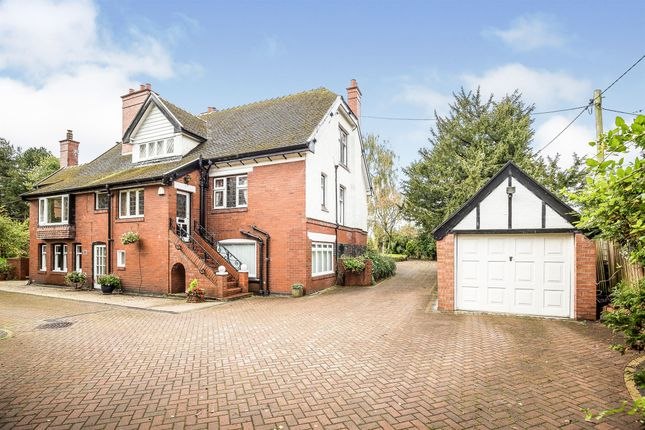 Thumbnail Detached house for sale in Whitegate Road, Winsford