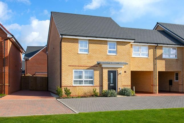 "Thumbnail Semi-detached house for sale in ""Cheltenham"" at Aqua Drive, Hampton Water"