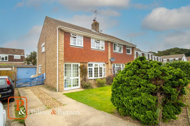Thumbnail Semi-detached house for sale in Evergreen Drive, St Johns, Colchester