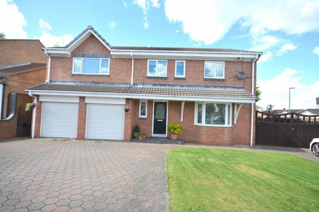 Thumbnail Detached house for sale in Lesbury Close, Chester Le Street