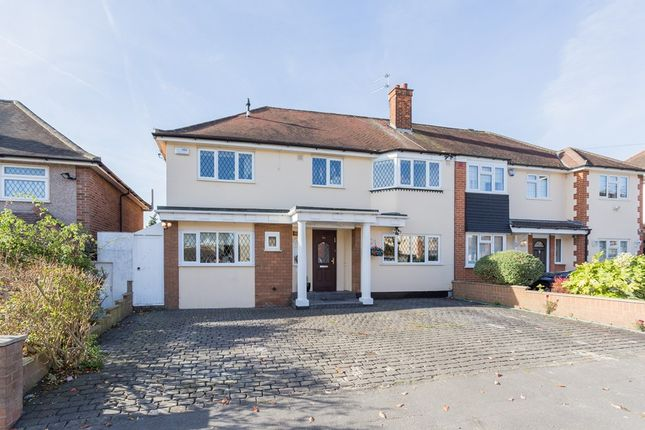 Thumbnail Semi-detached house for sale in Oak Lodge Avenue, Chigwell