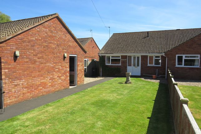 Thumbnail Semi-detached bungalow for sale in Charlton Road, Creech Heathfield, Taunton