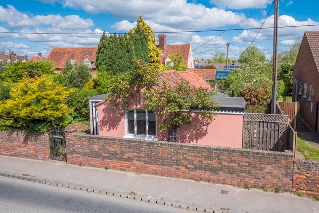 Thumbnail Semi-detached bungalow for sale in Newton, Sudbury, Suffolk