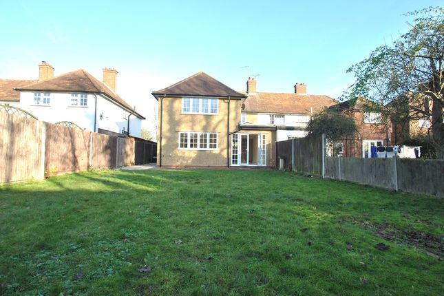 Thumbnail Semi-detached house to rent in Cashio Lane, Letchworth Garden City