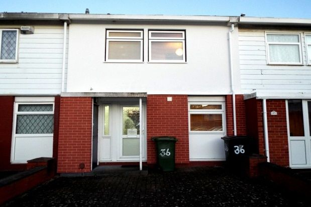 Thumbnail End terrace house to rent in Dormston Close, Redditch