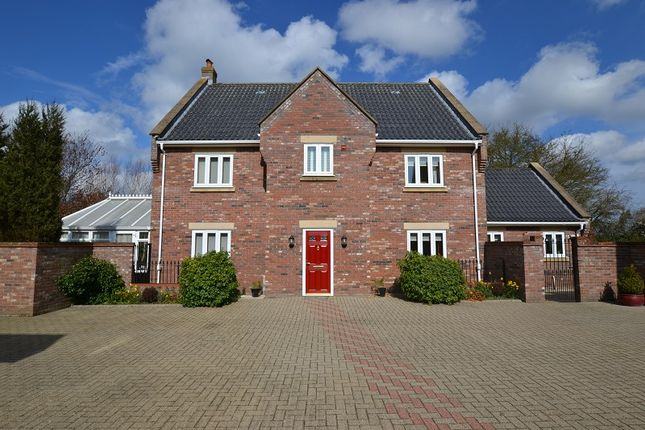 Thumbnail Detached house for sale in Saxon Meadows, Bawdeswell, Dereham, Norfolk.