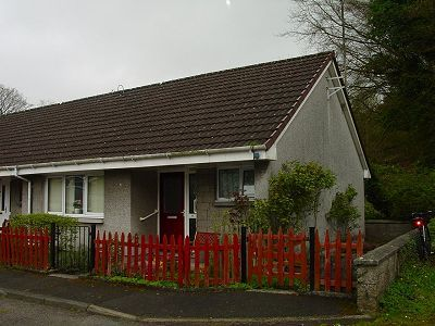 Thumbnail Terraced bungalow for sale in 9 The Hollow, Creetown, Newton Stewart