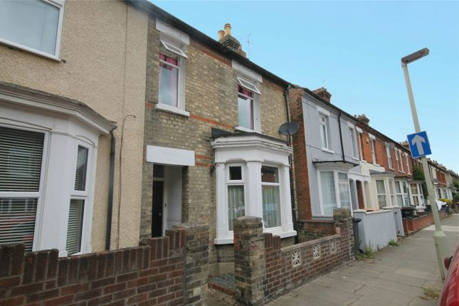 Thumbnail End terrace house for sale in Bower Street, Bedford
