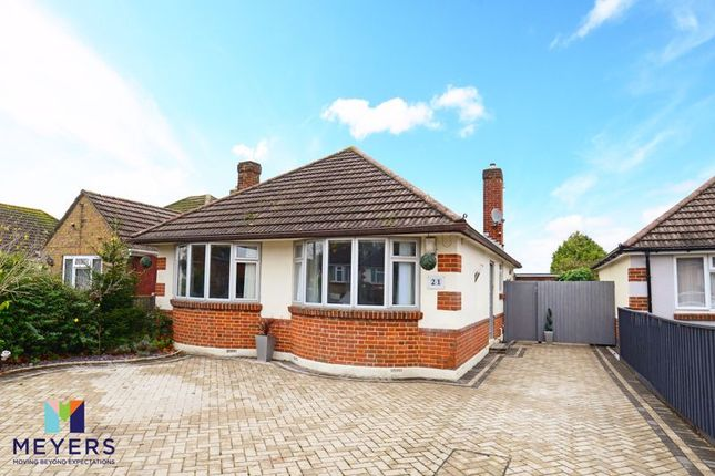 Thumbnail Detached bungalow for sale in Milford Drive, Bournemouth