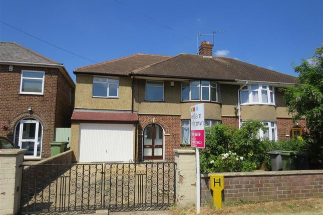 Thumbnail Semi-detached house for sale in Irthlingborough Road, Wellingborough