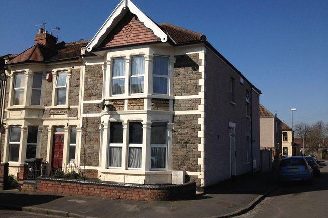 Thumbnail Flat to rent in Oakleigh Avenue, Whitehall, Bristol