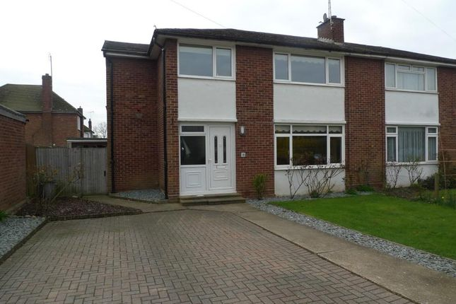 Thumbnail Semi-detached house for sale in Portland Crescent, Feltham / Ashford Borders