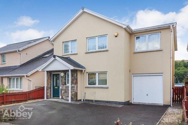 Thumbnail Detached house for sale in Rhymney Walk, Rhymney, Tredegar
