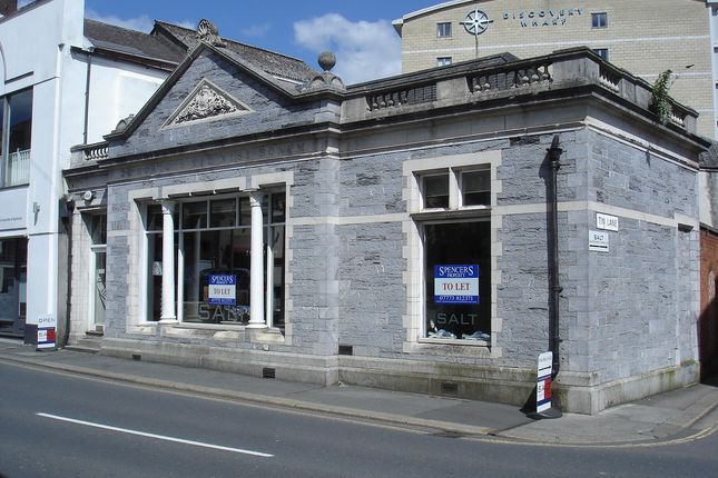 Thumbnail Retail premises to let in Vauxhall Street, Plymouth