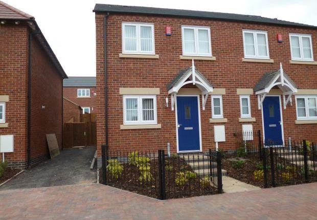 Thumbnail Semi-detached house to rent in Nailers Way, Belper
