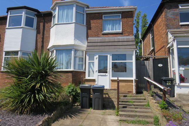 Thumbnail Semi-detached house for sale in Ansell Road, Erdington, Birmingham