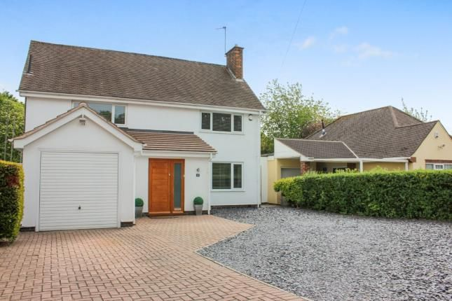 Thumbnail Detached house for sale in Curzon Avenue, Birstall, Leicester, Leicestershire