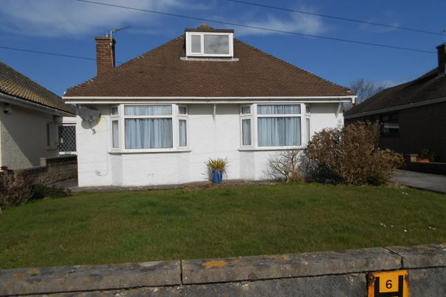 Thumbnail Detached bungalow to rent in Severn Road, Porthcawl