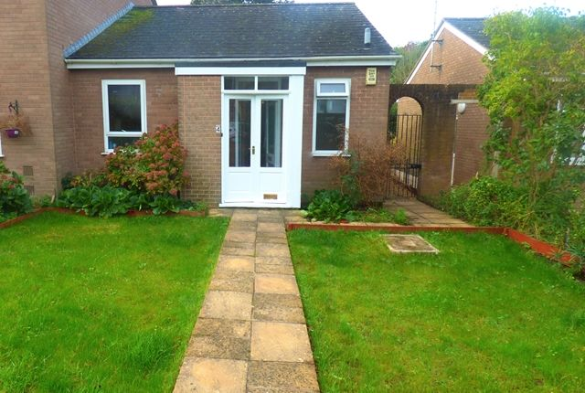 Thumbnail Bungalow to rent in Mercer Court, Bishop Westall Road, Exeter
