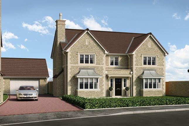 Thumbnail Detached house for sale in Longmead, 8 Hawkesmead Close, Norton St Philip