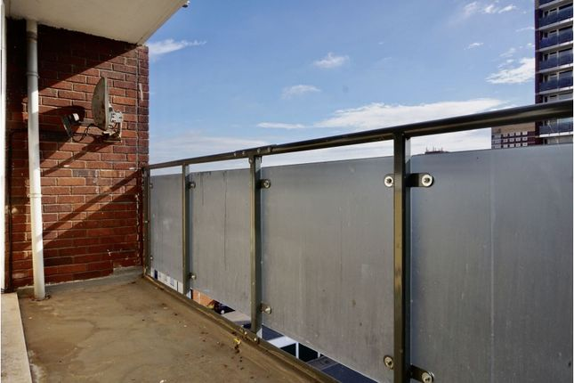 Balcony of Lichfield Street, Tamworth B79