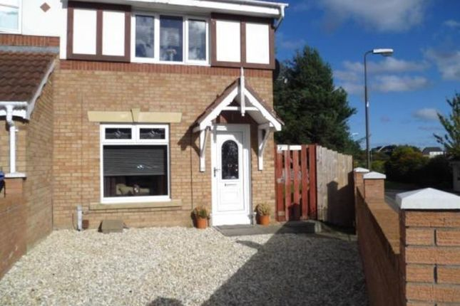 Thumbnail End terrace house to rent in Fintry Avenue, Deans, Livingston