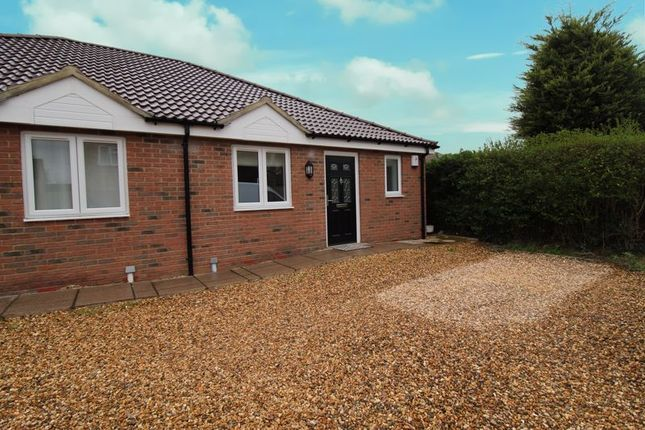 Thumbnail Semi-detached bungalow for sale in St. Neots Road, Sandy