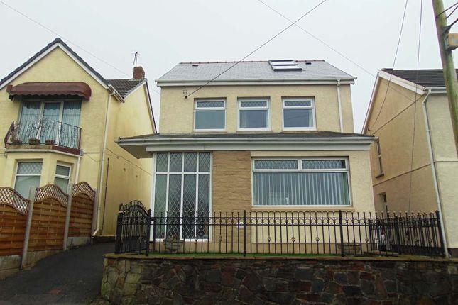 Thumbnail Detached house for sale in Trallwm Road, Bryn, Llanelli