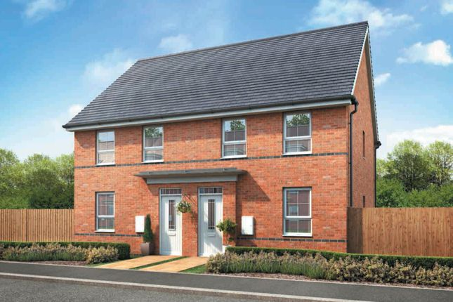 "Thumbnail Semi-detached house for sale in ""Finchley"" at Park Hall Road, Mansfield Woodhouse, Mansfield"