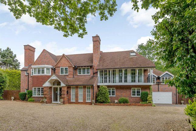 Thumbnail Detached house for sale in Park Drive, Little Aston Park, Sutton Coldfield