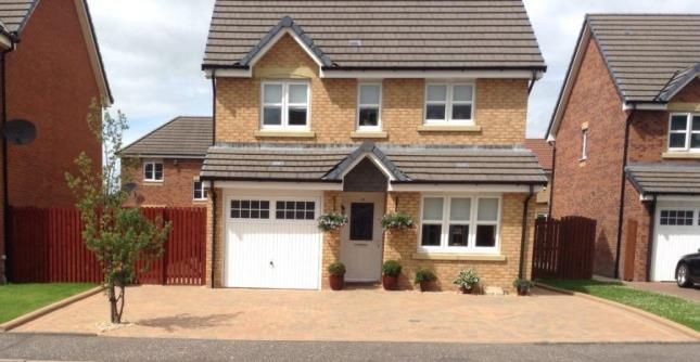Thumbnail Detached house for sale in Lochranza Crescent, Airdrie, North Lanarkshire