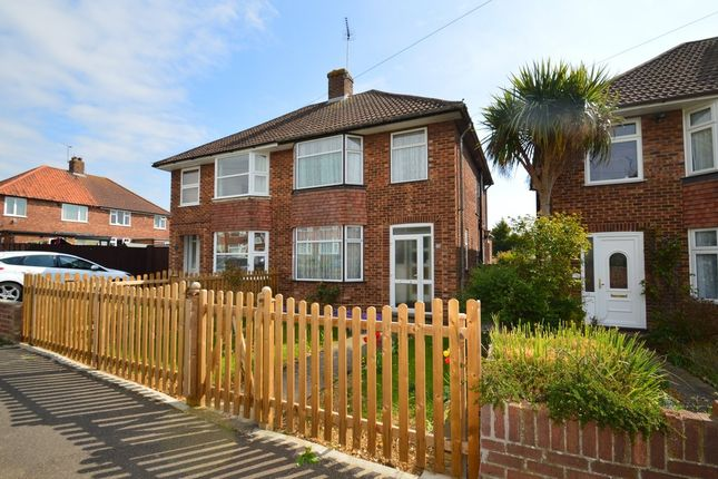 Thumbnail Semi-detached house for sale in Shrubland Avenue, Ipswich