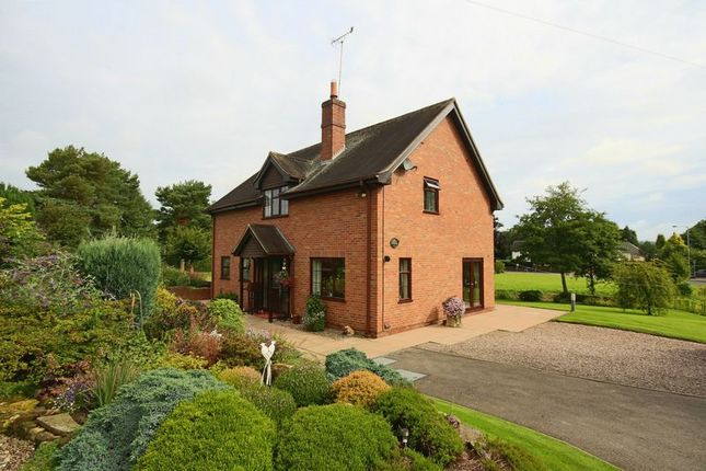 Thumbnail Detached house for sale in Woore Road, Madeley, Crewe, Cheshire East