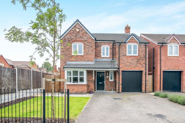 Thumbnail Detached house for sale in Ivetsey Road, Wheaton Aston, Stafford