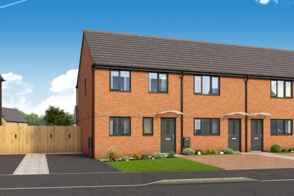 "Thumbnail Property for sale in ""The Ashby At Roman Fields "" at Chamberlain Way, Peterborough"