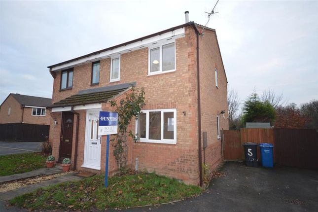 Thumbnail Semi-detached house to rent in Alpine Grove, Hollingwood, Chesterfield