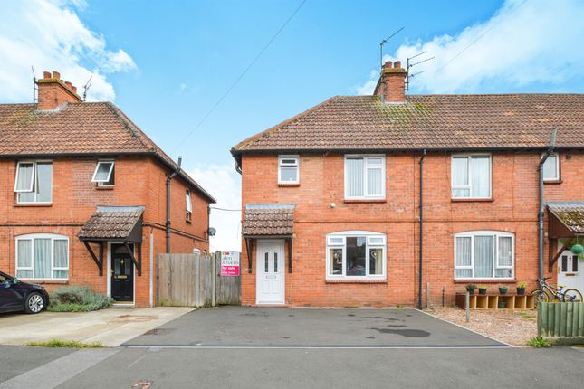 Thumbnail End terrace house for sale in Longcroft Avenue, Devizes