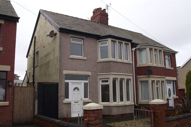 Thumbnail Semi-detached house to rent in Warbreck Drive, Bispham, Blackpool, Lancashire