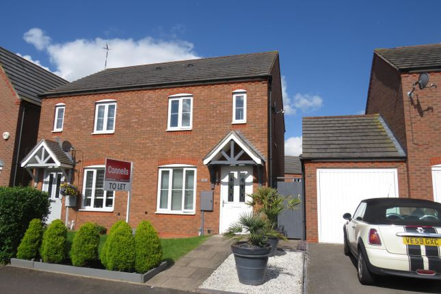 Thumbnail Semi-detached house to rent in Goggbridge Lane, Chase Meadow Square, Warwick