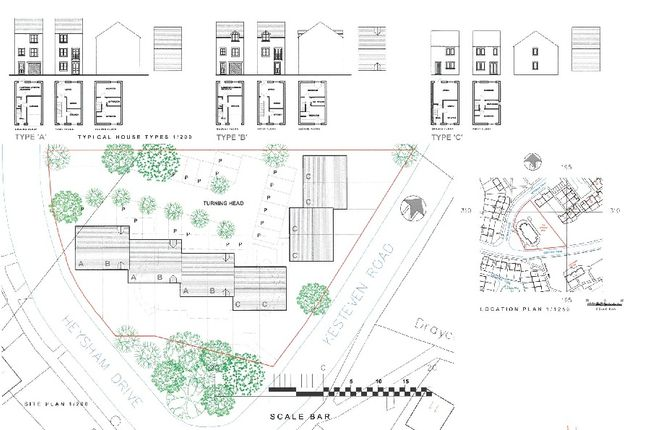 Thumbnail Block of flats for sale in Heysham Drive/Kesteven Road, Bradford