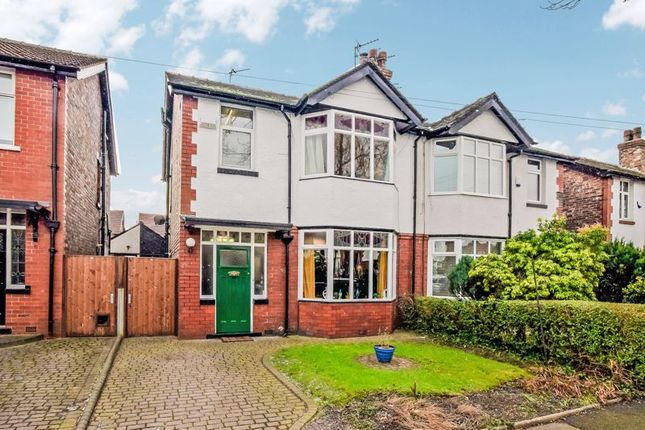 Thumbnail Semi-detached house for sale in Pine Grove, Prestwich, Manchester
