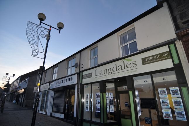 Thumbnail Flat to rent in High Street, Spennymoor