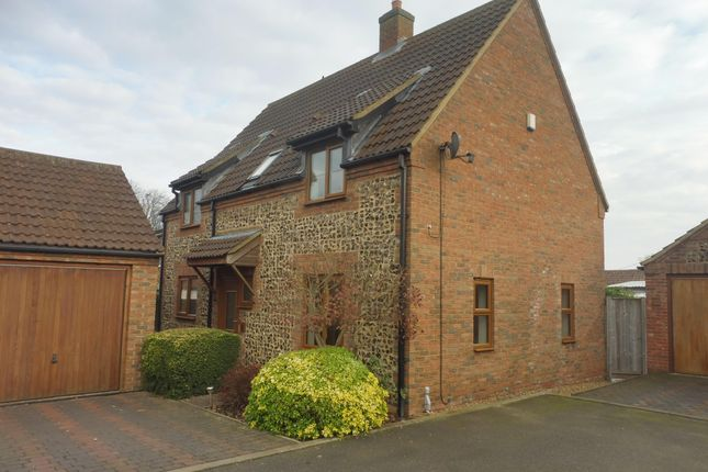 Thumbnail Detached house to rent in The Old Bakery Close, Methwold, Thetford