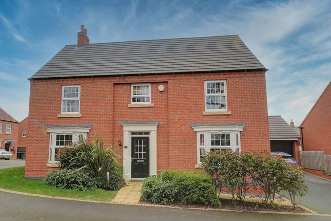 Thumbnail Detached house for sale in Hilary Bevins Close, Higham On The Hill, Nuneaton