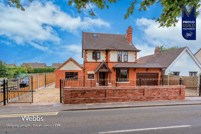 6 bed detached house for sale in Station Road, Great Wyrley, Walsall WS6