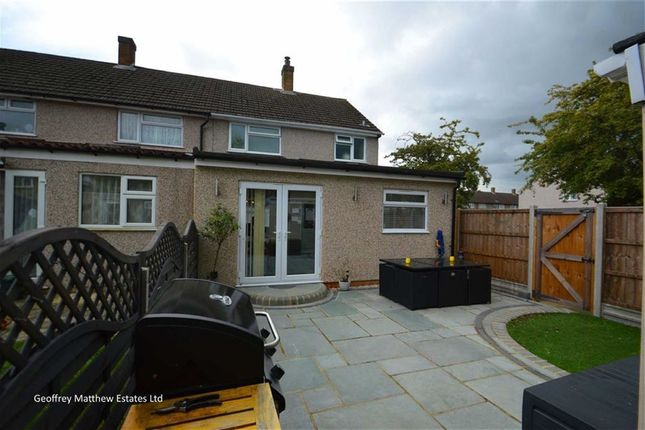 Thumbnail End terrace house for sale in Pear Tree Mead, Harlow, Essex