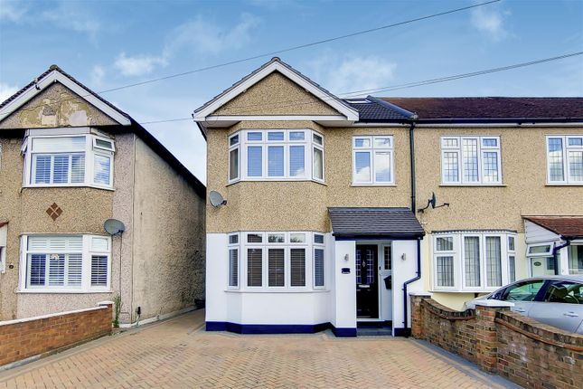 Thumbnail End terrace house for sale in Belmont Road, Erith